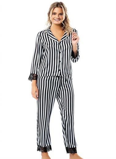 Loriva Pijama Takım Siyah